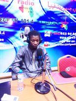Mamadou Adama Diallo, chargé de la communication de l'UNHG