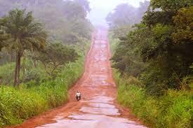 Route Mamou-Dalaba